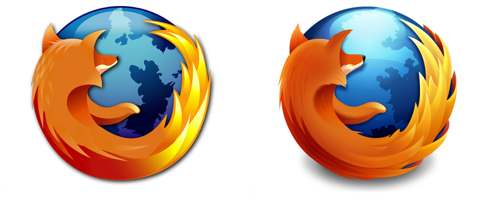 Firefox Logo Design Effort By 9 Years Old Girl in MS Paint