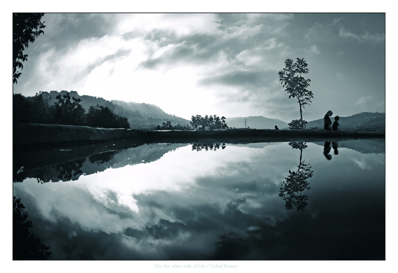 Beauitul Mirror reflection photography