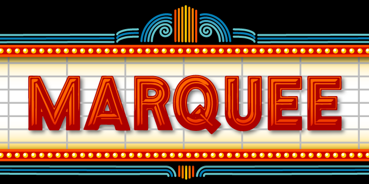 Compilation of Top 10 Film Marquee Font Styles – Lava360